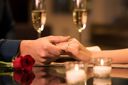 Valentine's Day at the Norfolk Royale Hotel